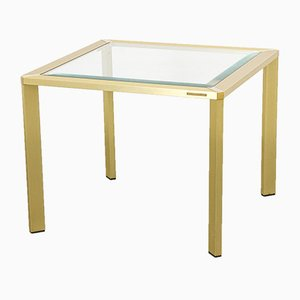 Brass Coffee Table by Pierre Vandel, 1970s