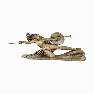 Art Déco Bronzeskulptur von Marcel Bouraine, 1920er