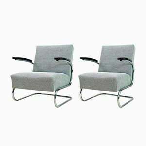 Vintage Armchairs from Mücke Melder, 1930s, Set of 2