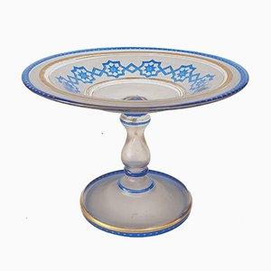 Schale aus Kristallglas, 19. Jh.