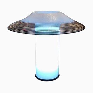 Lámpara de mesa de cristal de Murano de Vistosi, años 60