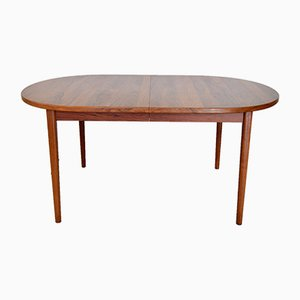 Mid-Century Extendable Rosewood Dining Table by Nils Jonsson for Hugo Troeds, 1950s