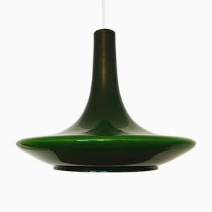 Vintage Glass Pendant Lamp from Peill & Putzler, 1960s