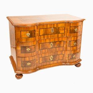 Antique Baroque Walnut Dresser, 1760s