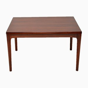 Danish Rosewood Extendable Dining Table by Henning Kjaernulf, 1960s