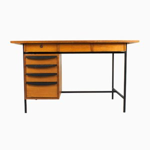 Mid-Century Italian Teak Veneered Desk