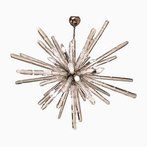 Italienischer Sputnik Kronleuchter aus Muranoglas, 1970er