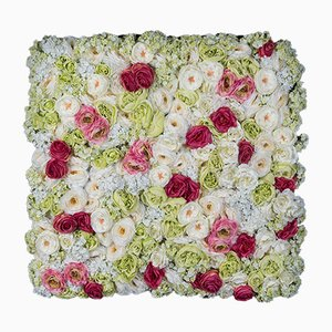 Panneau Mural Végétal avec Roses de Vgnewtrend