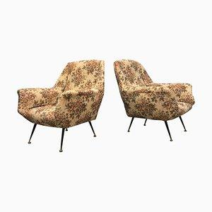 Italienische Sessel von Cassina, 1950er, 2er Set