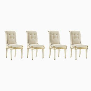 19th Century Italian Dining Chairs, Set of 4