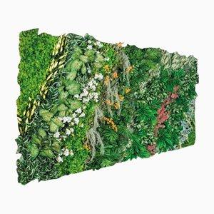 Wandplatte mit Blumen von Vgnewtrend