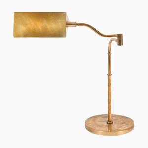 Mid-Century Brass Table Lamp, 1950s