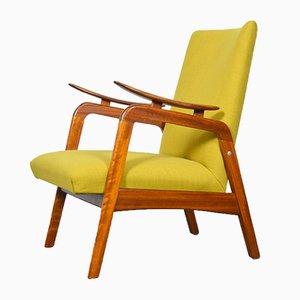 Vintage Scandinavian Teak Armchair, 1960s