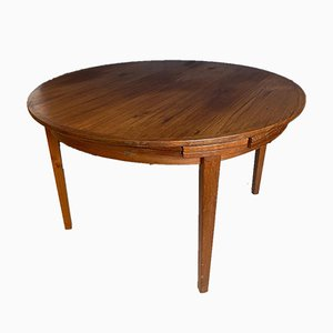 Teak Extendable Lotus Dining Table from Dyrlund, 1960s