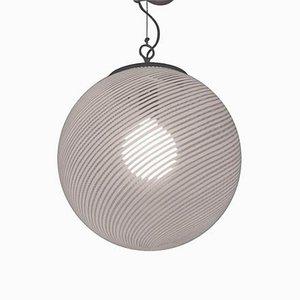 Deckenlampe aus Glas von Massimo Vignelli für Venini, 1960er