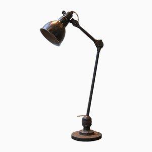 Schwarze Tischlampe von Bernard-Albin Gras, 1950er