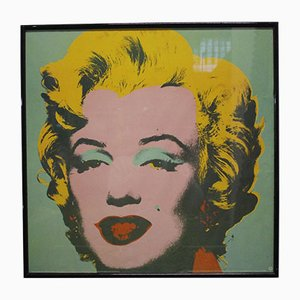 Marilyn Monroe Poster by Andy Warhol for Neues Publishing, 1993