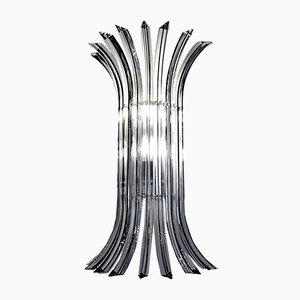 Triedi Curvati Murano Glass Sconce, 1980s