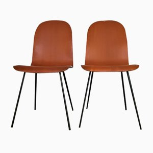 Mid-Century Dining Chairs by Campo e Graffi, Set of 2