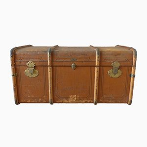 Antiker Koffer von Koffer Müller Karlsruhe, 1920er