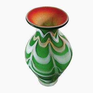 Jarrón de cristal de Murano de Seguso, años 60