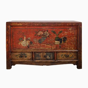 Antique Tibetan Sideboard, 1900