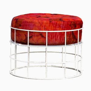 Model T1 Wire Stool by Verner Panton for Plus-Linje, 1950s