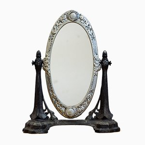 Antique Art Nouveau French Table Mirror, 1910s