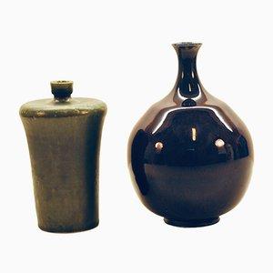 Vases by Sven Hofverberg, 1960s, Set of 2
