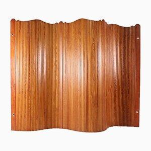 Raumteiler aus Kiefernholz von Jomain Baumann für Baumann, 1950er