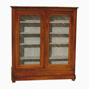 Small Antique Walnut Bookcase
