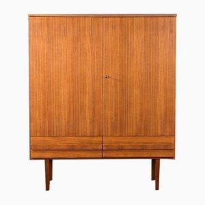 Mid-Century Walnut Veneer Dresser, 1960s
