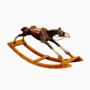 Cavallo a dondolo di Gemla Möbler, anni '30
