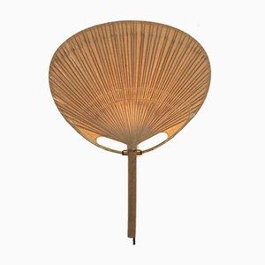 Uchiwa Wandleuchte aus Reispapier & Bambus von Ingo Maurer für Design M, 1970er