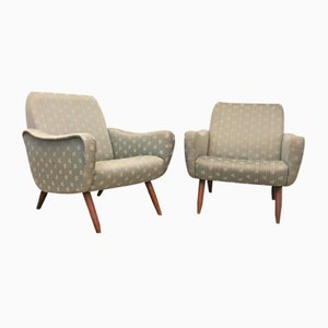 Vintage Italian Armchairs, 1940s, Set of 2