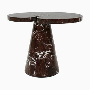 Vintage Italian Marble Eros Side Table by Angelo Mangiarotti