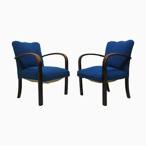 Lounge Chairs from Thonet, 1930s, Set of 2