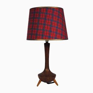 Scandinavian Teak Table Lamp, 1970s