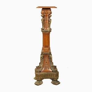 Vintage Napoleon III Style Italian Pedestal