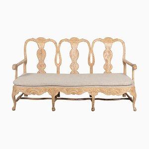 18th Century Rococo Swedish Sofa