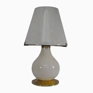Tischlampe aus Muranoglas, 1970er