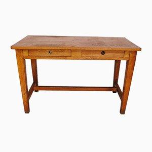 Vintage Oak Desk, 1940s