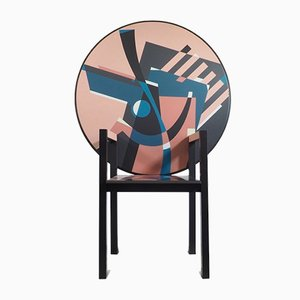 Zabro Armlehnstuhl von Alessandro Mendini für Zanotta, 1980er