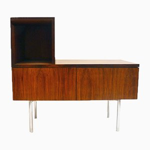 Rosewood and Steel Multifunction Furniture, 1960s