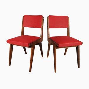 Vintage Esszimmerstühle, 1950er, 2er Set