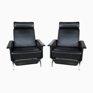 Modernist Swivel Chairs, 1960s, Set of 2