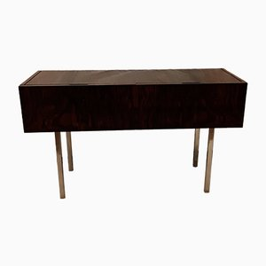 Rosewood and Chromed Steel Sideboard from WK Möbel, 1970s