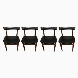 Esszimmerstühle von Frem Røjle, 1960er, 4er Set