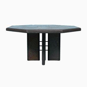 Vintage Octagonal Coffee Table by Paul Kingma