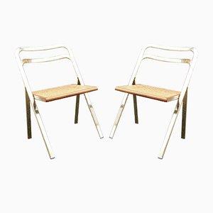 Chaises Pliantes par Giorgio Cattelan pour Cidue, 1970s, Set de 2